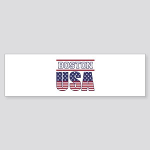 Boston, USA Sticker (Bumper)
