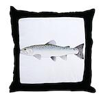 Sea trout Sea Run brown trout Throw Pillow