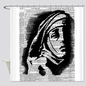 Mary by Pasha du Valentine Shower Curtain
