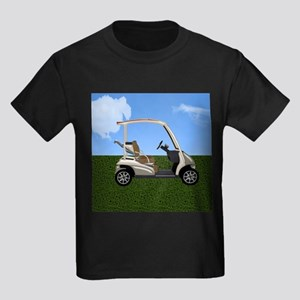 Golf Cart on Grass T-Shirt