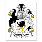 Grimshaw Family Crest Small Poster