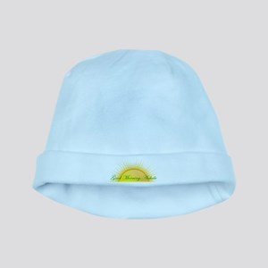 Good Morning, Asshole baby hat