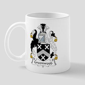 Greenwood Family Crest Mug