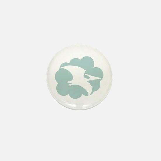 Pterodactyl Mini Button