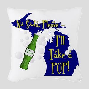 I'll Take a POP! Woven Throw Pillow