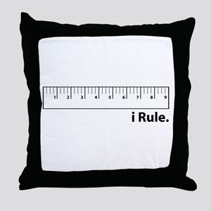 i Rule Throw Pillow