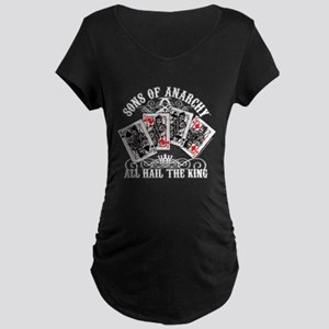 SOA All Hail the King Maternity Dark T-Shirt