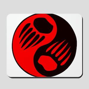 Bear Claw Yin Yang Mousepad