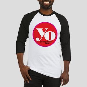 Red Yo! Baseball Jersey