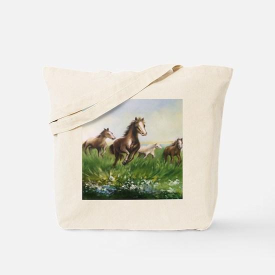 Unique Horse power Tote Bag