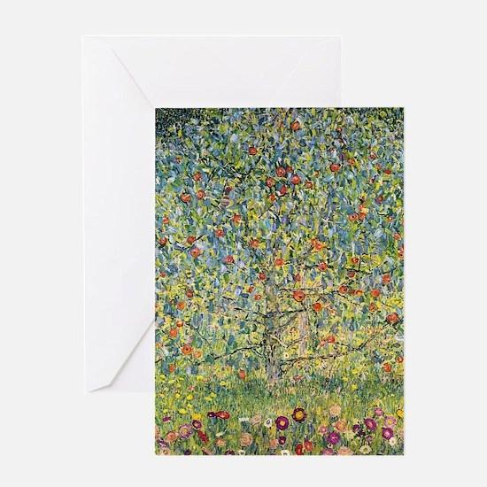 Apple Tree by Gustav Klimt, Vintage Greeting Cards