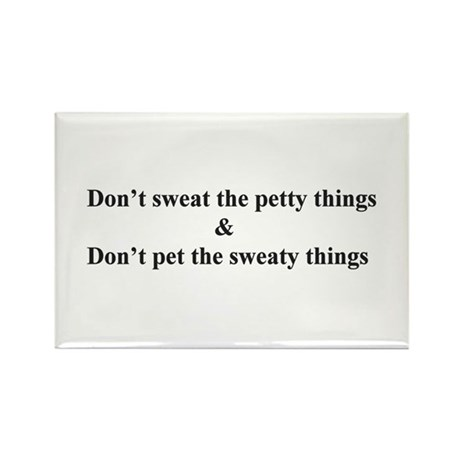 Sweaty things Rectangle Magnet (10 pack)