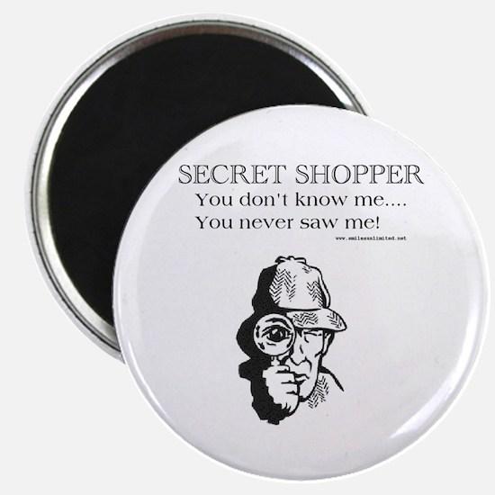 Secret Shopper Magnet
