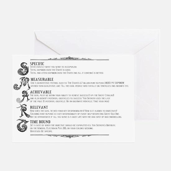Steampunk SMART Principles Greeting Card