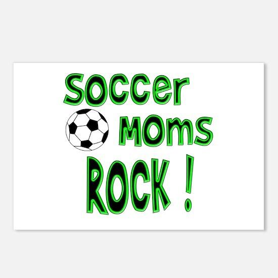 Soccer Moms Rock ! Postcards (Package of 8)