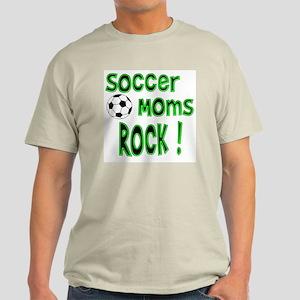 Soccer Moms Rock ! Light T-Shirt