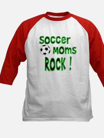 Soccer Moms Rock ! Kids Baseball Jersey