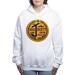 USS JOUETT Women's Hooded Sweatshirt