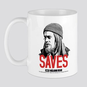 Jesus Saves 11 Oz Ceramic Mug Mugs