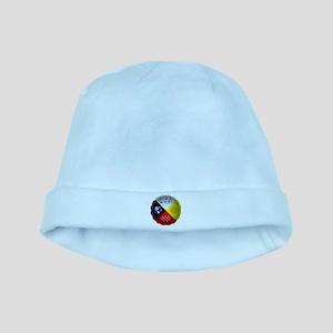 Medicine Wheel baby hat