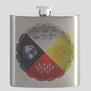 Medicine Wheel Flask