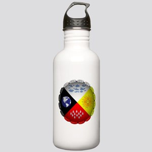Medicine Wheel Water Bottle