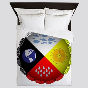 Medicine Wheel Queen Duvet