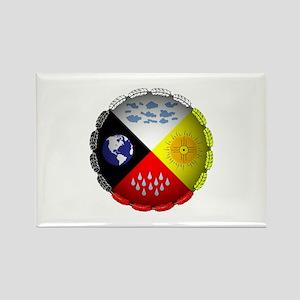 Medicine Wheel Magnets