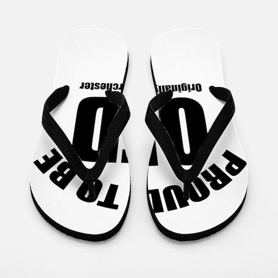 Proud To Be OFD Flip Flops