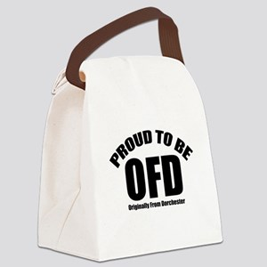 Proud To Be OFD Canvas Lunch Bag