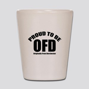 Proud To Be OFD Shot Glass
