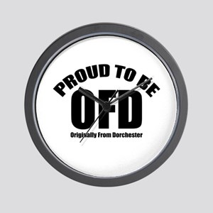 Proud To Be OFD Wall Clock