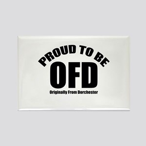 Proud To Be OFD Rectangle Magnet