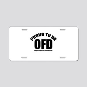 Proud To Be OFD Aluminum License Plate