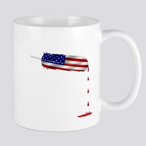 Eagle Feather Flag Mugs