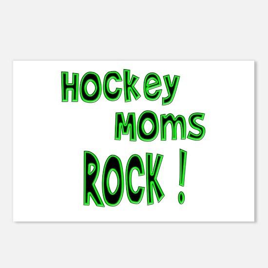 Hockey Moms Rock ! Postcards (Package of 8)