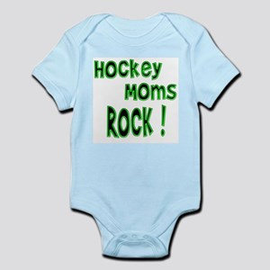 Hockey Moms Rock ! Infant Bodysuit