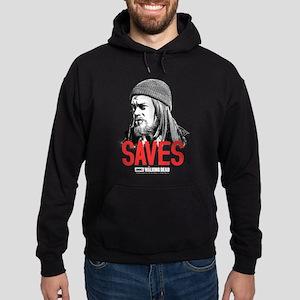 Jesus Saves Hoodie (dark) Sweatshirt