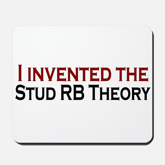 Stud RB Theory Mousepad