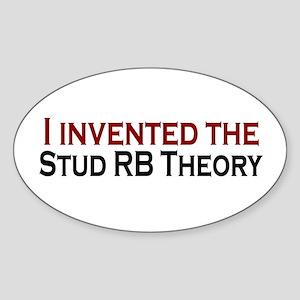 Stud RB Theory Oval Sticker