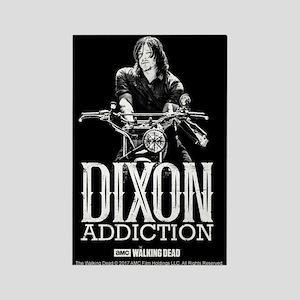 Daryl Dixon Addiction Rectangle Magnet