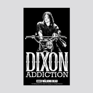 Daryl Dixon Addiction Sticker (Rectangle)