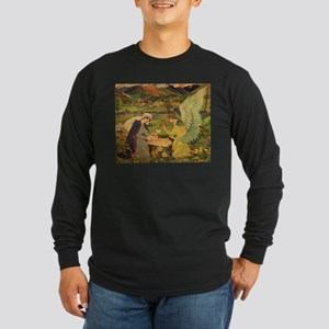 Vintage Religious Tapestry Long Sleeve T-Shirt