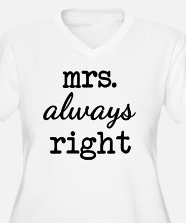Unique Mr right and mrs always right T-Shirt