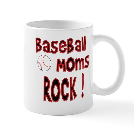 Baseball Moms Rock ! Mug
