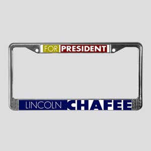 Lincoln Chafee for President License Plate Frame