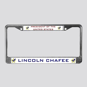Lincoln Chafee for President U License Plate Frame