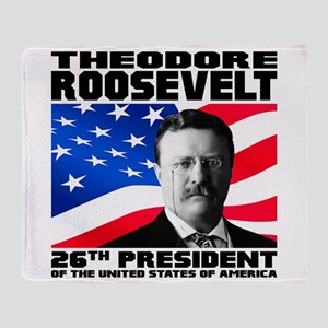 26 Roosevelt Throw Blanket
