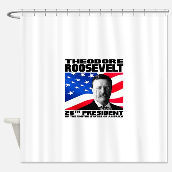 26 Roosevelt Shower Curtain