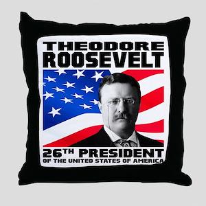 26 Roosevelt Throw Pillow